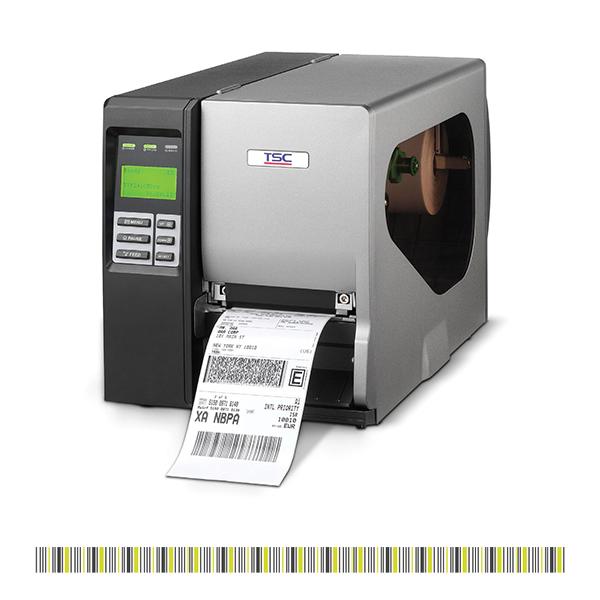 מדפסת מדבקות תעשייתית דגם TTP-268 מבית TSC
